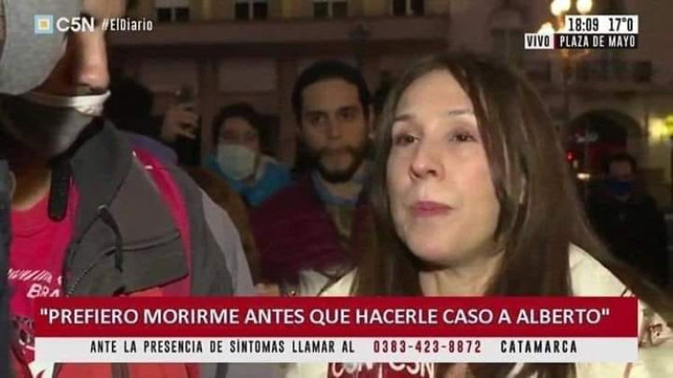 Los anticuarentena, la economía y el poder mediático en Argentina