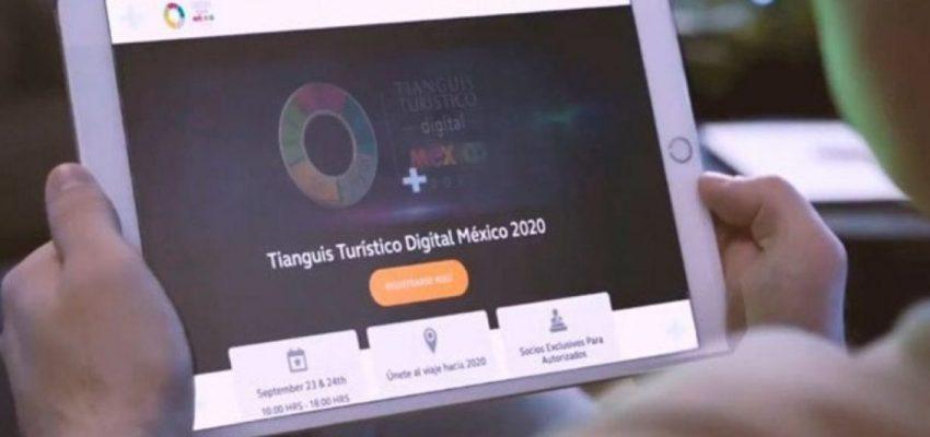 Termina el primer Tianguis Turístico Digital con ventas preliminares por cien millones de dólares