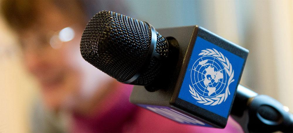ONU pide liberación de periodistas detenidos por ejercer su trabajo en el mundo