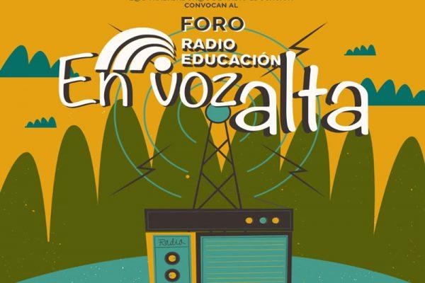 """Invitan al foro """"Radio Educación en voz alta"""""""