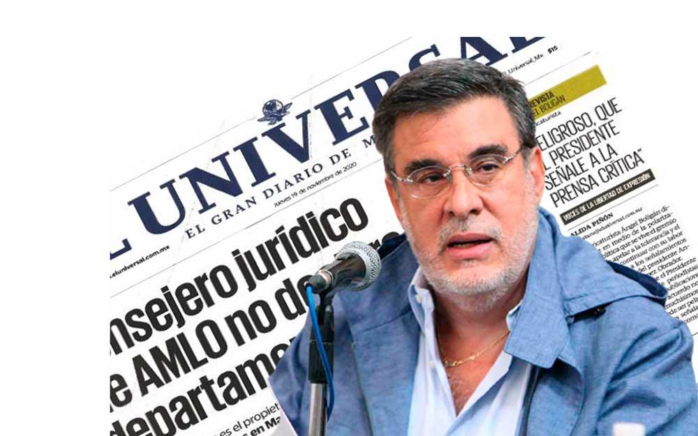 Scherer Ibarra desmiente a El Universal, quien lo acusa de ocultar departamento en Nueva York