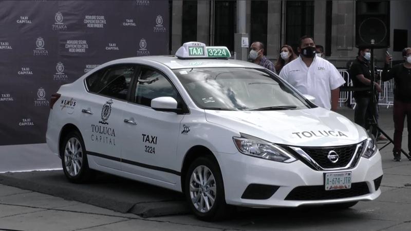 Plataforma municipal garantiza excelencia en el servicio de taxis en Toluca